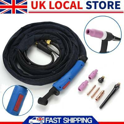 £38.21 • Buy Air-Cooled TIG Welding Torch Single/Dual Control Switch High Insulation Property