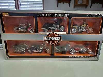 $20 • Buy Maisto 2001 Harley Davidson Special Edition FLTR Road Glide 1:18 Collectors Set