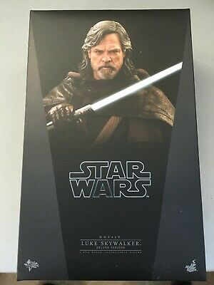 $175 • Buy Star Wars Sideshow Collectible Hot Toys Luke Skywalker Deluxe Edition 1/6 Scale