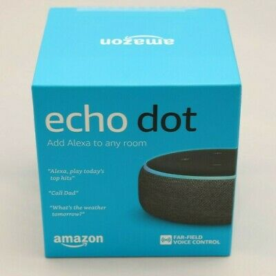 AU19 • Buy Brand New Amazon Echo Dot 3rd Generation Smart Assistant Speaker Alexa