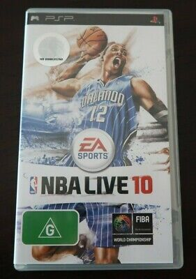 AU12.95 • Buy  NBA Live 10  -SONY Playstation Portable (Game, Case & Booklet) PSP