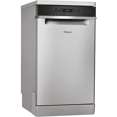 View Details Whirlpool WSFO3T223PCXUK A++ Dishwasher Slimline 45cm 10 Place Stainless Steel • 369.00£