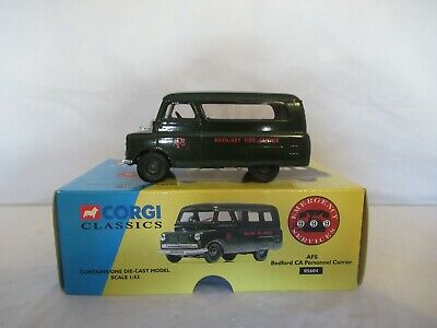 $6.30 • Buy Corgi Bedford Ca Personnel Carrier - Auxiliary Fire Service Scale 1:43 05604