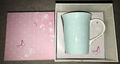 Lucy Cromwell Mug In Box Mark Gift Present New Spotted Design Christmas Gift • 7.49£