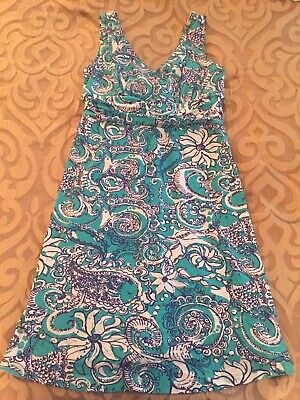 $18.99 • Buy Lilly Pulitzer Shianne V-Neck Dress Size Medium EXCELLENT CONDITION!