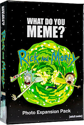 AU29.90 • Buy What Do You Meme? Rick And Morty Expansion Pack  - BRAND NEW