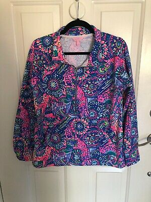 $11.50 • Buy Lilly Pulitzer Popover Large EUC