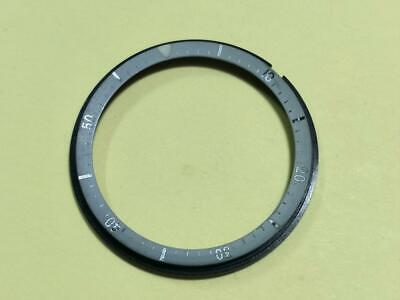 $ CDN107.20 • Buy Genuine Used Black Dial Ring Chapter Ring Seiko Rar Silver Pogue 6139-6002 /6005