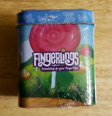 AU14.31 • Buy Fingerlings Tin Container With 2 Magnets, Mini Poster, 4 Stickers & 1 Fingerling