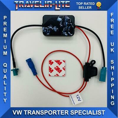 VW T5 T5.1 T6 Radio Aerial Signal Booster Transporter 2010 Onwards • 15.99£