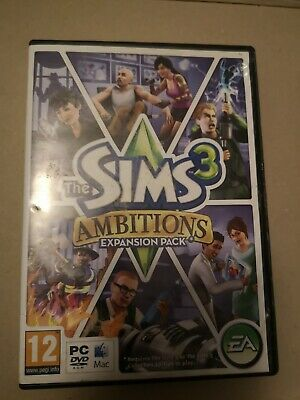 The Sims 3 - Ambitions Expansion Pack - PC/ MAC • 2.95£