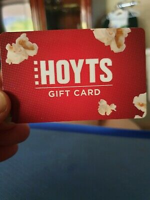 AU18.50 • Buy Hoyts Movies Gift Card NEW Unwanted Gift $30 Expires 07/2022