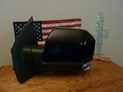 $317 • Buy NEW Ford F-150 2015-18 Driver Side Mirror, POWER FOLDING  Camera  BLACK Cover ++