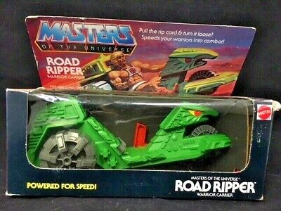 $275 • Buy NEW Masters Of The Universe MOTU Road Ripper He Man 1983 MISB