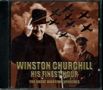 £6.19 • Buy Winston Churchill - His Finest Hour: The Great Wartime Speeches CD Amazing Value