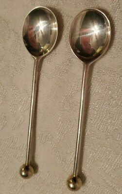 $ CDN32.85 • Buy Sterling Silver DEMITASSE SPOON Lot Ball On Handle  4 1/8   23.20g