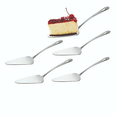 £5.99 • Buy 5 Cake Server Spoons Pizza Pie Party Server Stainless Steel Finish 27cm