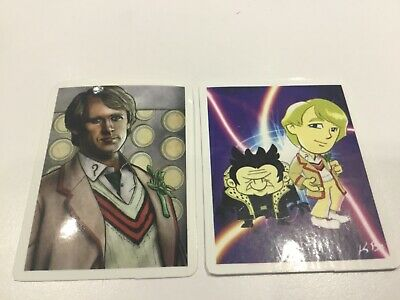 £1.25 • Buy Doctor Dr Who Sticker Decals - Laptop Lunchbox Etc - 5th Dr Portrait & Cartoon