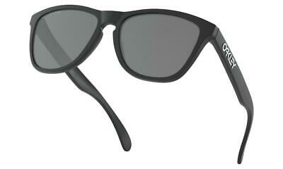 AU179 • Buy Oakley FROGSKINS Sunglasses Matte Black - Black Iridium Polarised Lens 9013-24
