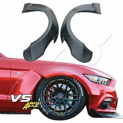 $ CDN468.10 • Buy VSaero FRP RBOT Wide Body Fender Flares (front) For Ford Mustang 15-20