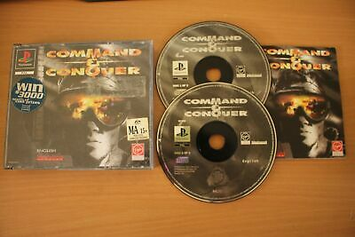 AU38.99 • Buy Command & Conquer (PS1) [PAL] - WITH WARRANTY