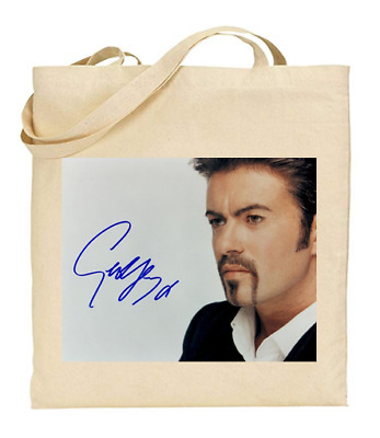 £6.49 • Buy Shopper Tote Bag Cotton Canvas Cool Icon Stars George Michael Ideal Gift Present