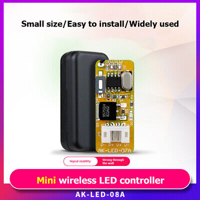433MHz DC9V-12V 1CH Wireless Remote Control Switch Mini Relay LED Board Switch • 8.30£