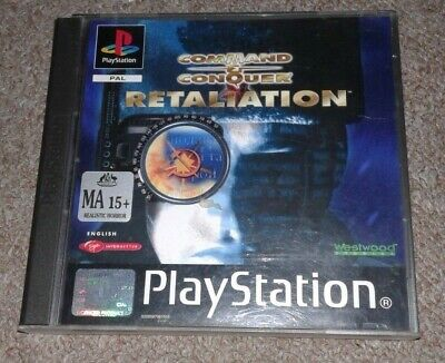 AU60 • Buy Sony PlayStation 1 PS1 Command And Conquer Retaliation