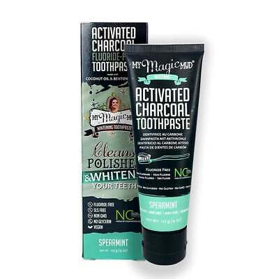 AU34.95 • Buy Charcoal Teeth Whitening Toothpaste 113g - Spearmint