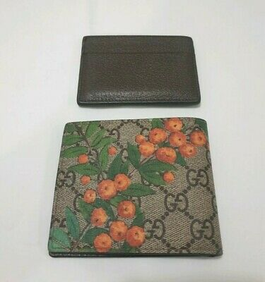 AU490 • Buy Gucci Bee Wallet Black Mens, As New, With Box