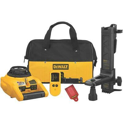 $329.97 • Buy DEWALT DW074KDR Interior And Exterior Rotary Laser Level Kit
