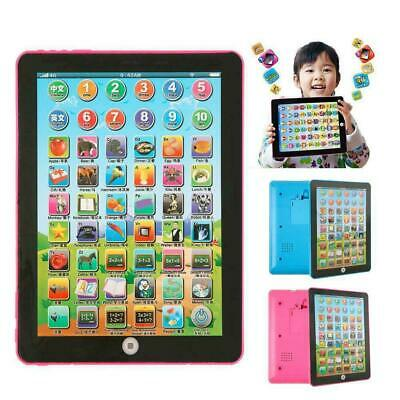 £7.88 • Buy Baby Tablet Educational Toys Kids For 1-6 Years Toddler Learning English Gift