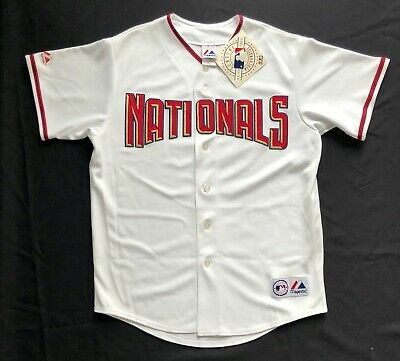 $49.99 • Buy Majestic Authentic Washington Nationals Home Jersey Large NWT