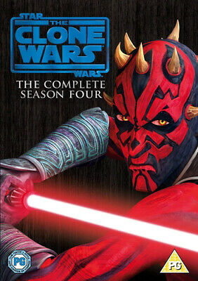 Star Wars - The Clone Wars: The Complete Season Four DVD (2012) George Lucas • 20.35£