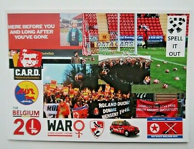Charlton Athletic Protest Movement Postcards X 4 • 1.95£