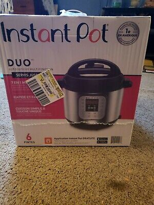 $70 • Buy Instant Pot DUO60  6Qt 7-in-1 Multi-Use Programmable Pressure Cooker