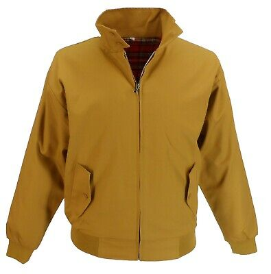 Relco Mustard Yellow Harrington Mod Scooter Jacket • 34.99£