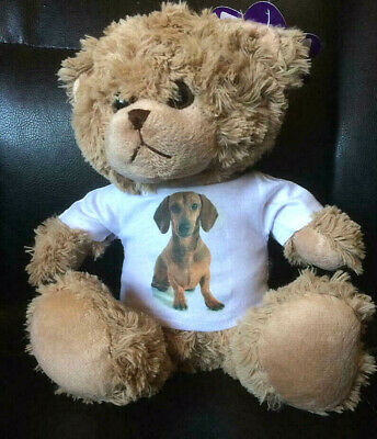 I LOVE MY DACHSHUND 8 Inch TEDDY BEAR  • 15.99£