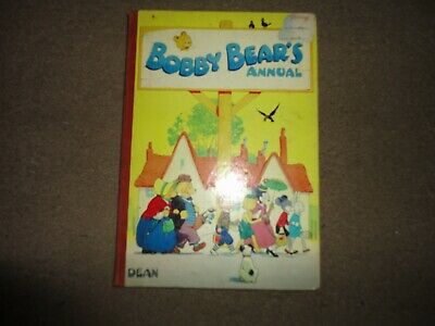 £9.99 • Buy VERY RARE VERSION 1950s   BOBBY BEARS ANNUAL DEAN AND SON  COLOUR PRINTS LOVELY