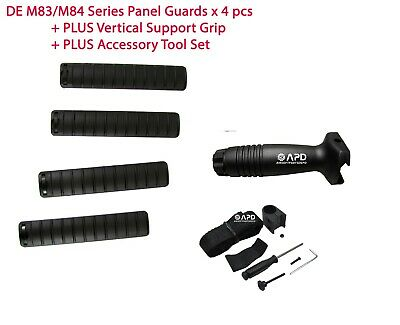 $10 • Buy DE M83/M84 Series Airsoft 4 Panel Guards + Plastic Foregrip + Accessory Tool Set
