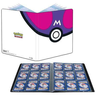 AU27.85 • Buy MASTER BALL POKEMON ULTRA PRO A4 ALBUM FOLDER PORTFOLIO 9 POCKET Holds 180 Cards