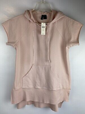 $ CDN56.29 • Buy New, ANTHROPOLOGIE LEFT OF CENTER TOP SIZE XS, Pink, Cotton, Short Sleeve, R