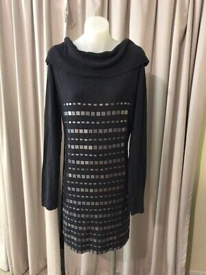 AU59 • Buy Sexy ! BNWT Y-LONDON Fitted Dress With Details , Sz L, RRP $325