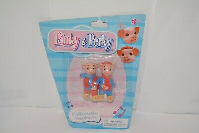 £12.99 • Buy Rare Set Of 2 Pinky And Perky Figures Collectable Figurines Sealed On Card (2)