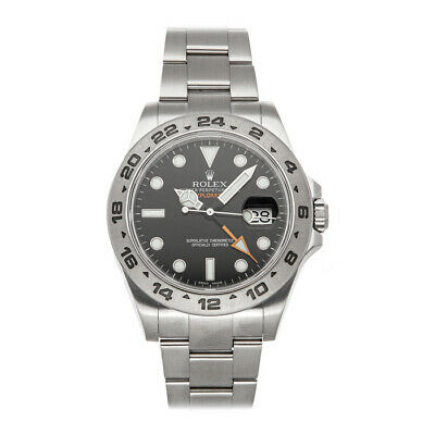 $ CDN9863.06 • Buy Rolex Explorer II Steel Auto 42mm Black Dial Oyster Bracelet Mens Watch 216570