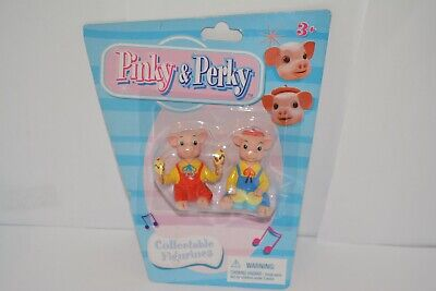 £12.99 • Buy Rare Set Of 2 Pinky And Perky Figures Collectable Figurines Sealed On Card (5)