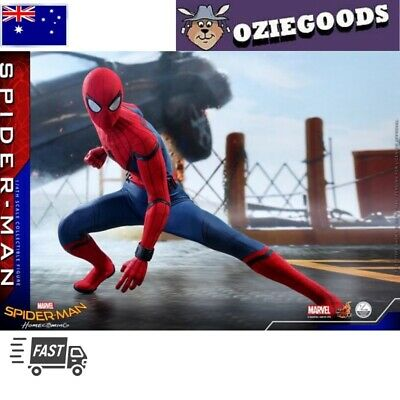 AU680 • Buy Hot Toys -  Spider-Man Homecoming (Deluxe Version) Peter Parker Figure MMS426