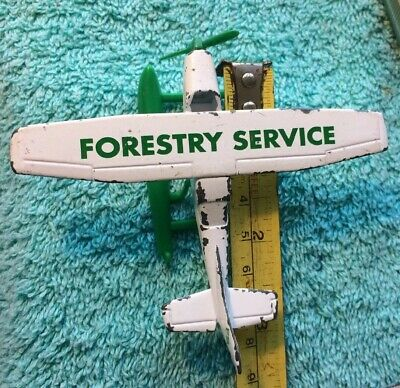 Matchbox SB26 Cessna 210-G Sea Plane Dated 1974 FORESTRY SERVICE FS See Photos • 6.50£