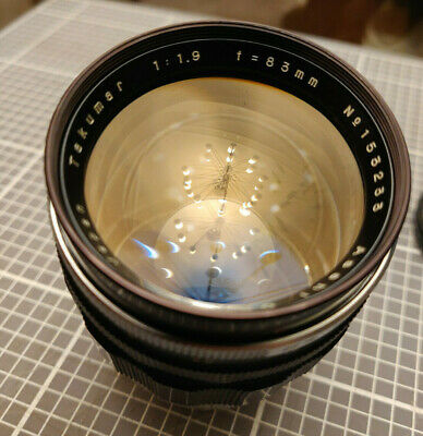 $ CDN999 • Buy Asahi Pentax Takumar 83mm F1.9 Camera Lens For M42 Mount Made In Japan