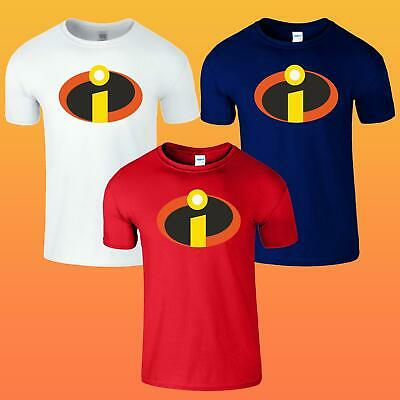 The Incredibles Superhero Mens Funny Joke Birthday Present Top T-shirt • 8.99£